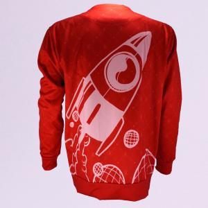 Flag Cap – Oibelart Sweatshirt Rot