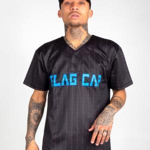 Flag Cap – C4 – Baseball Jersey Blau