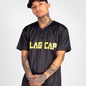 Flag Cap – C4 – Baseball Jersey Gelb