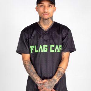 Flag Cap – C4 – Baseball Jersey Grün