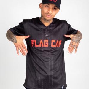 Flag Cap – C4 – Baseball Jersey Rot